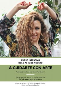 "ONLINE workshop - ""A Cuidarte con Arte"""
