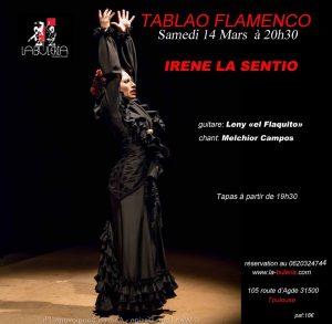 "Show at ""La Bulería"" (Toulouse) @ Tablao ""La Bulería"" | Toulouse | Occitanie | Francia"