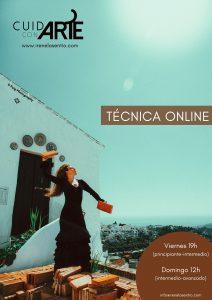 Online TECHNQUE class (beginner-intermediate)